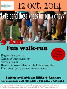 Flyer caminata Kidneys297